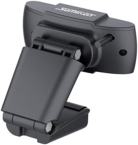 Somikon Webcamera: Full-HD-USB-Webcam mit Mikrofon, für PC und Mac, 1080p, 30 fps (Laptopkamera)