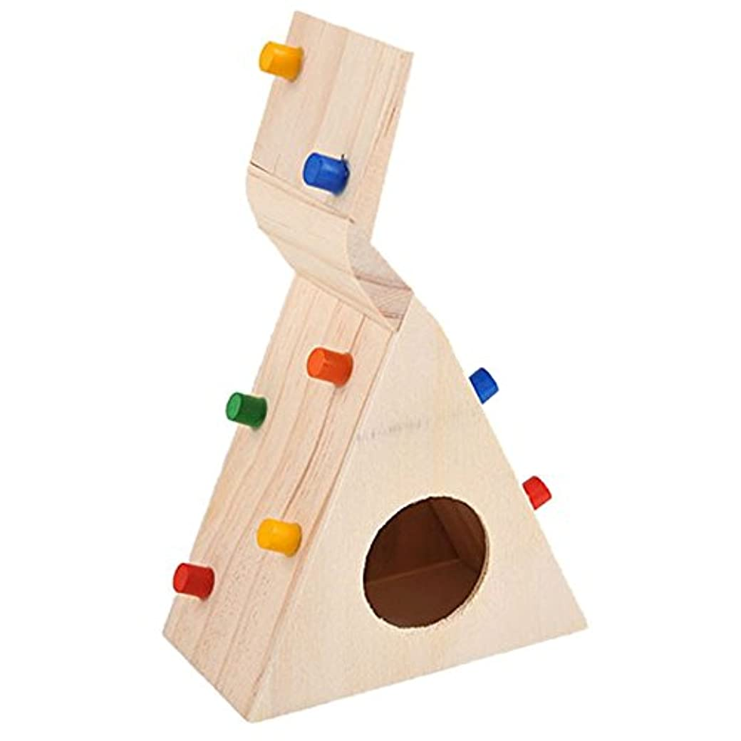 哺乳類溶けた練るRETYLY 小さなペット?ハムスター用のアクセサリー クライミング梯子 小さなラット、スナネズミ、ハムスター玩具 ペットのコスチューム店 ハムスターのおもちゃ