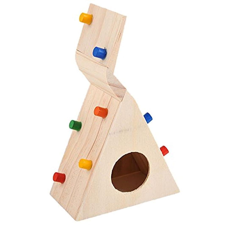 恐ろしいカナダ争いRETYLY 小さなペット?ハムスター用のアクセサリー クライミング梯子 小さなラット、スナネズミ、ハムスター玩具 ペットのコスチューム店 ハムスターのおもちゃ
