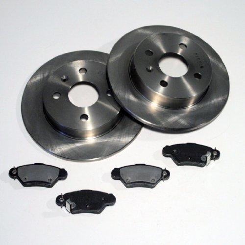 Bremsscheiben 240 mm Bremsen Bremsbeläge für hinten die Hinterachse für die 4 Loch Felge