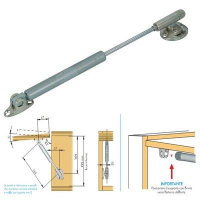 Barra kraby Soft Livenza Stop N 100Longitud 244mm kg 10sin fijaciones para puerta y lado