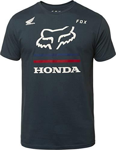 Fox T-Shirt Honda Blau Gr. L