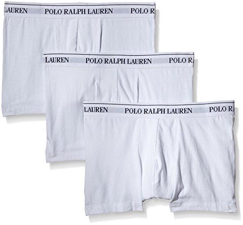 Polo Ralph Lauren 3 Packs Pouch Trunks, Short Homme, Noir, (lot de 3), Blanc, Medium
