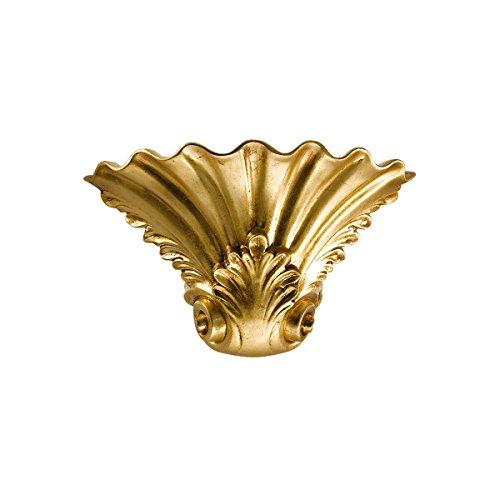 Kolarz Céramique Appliques Murales/Rokoko en Feuille d'or | Fait à la main Fabriqué en Italie | Applique classique