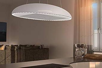 Airforce Eclipse - Parasol para lámpara (90 cm, sistema integra), color blanco