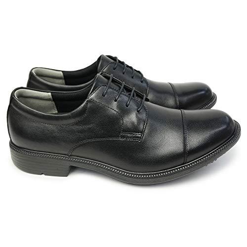 [ムーンスター] 靴 防水 防滑 ビジネスシューズ SPH4623SN 4E バランスワークス 本革 レザー メンズ ストレ...