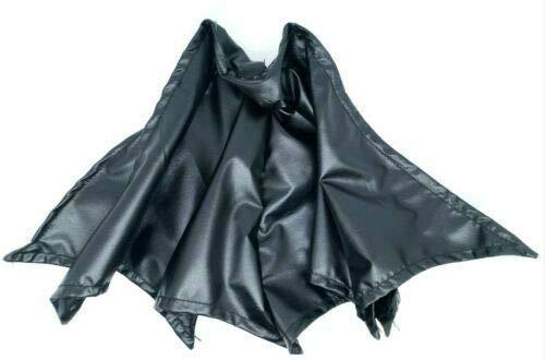 FIGLot Black Wired Cape for Mcfarlane McFarlane Azrael Batman (Figure NOT Included)