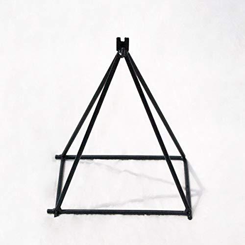 アイアン製 リングバスケット用設置台 マルチベースピラミッド W19×D13×H25.5cm