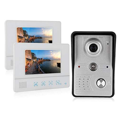 Manos Libres Intercomunicador Video Timbre 2 Monitores Apartamentos (Regulatorio Británico)