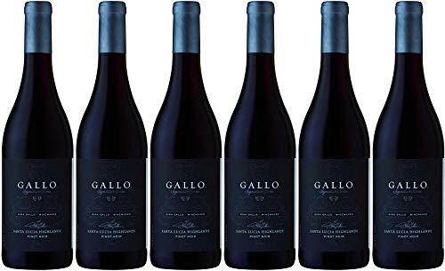 6x Pinot Noir Santa Lucia 2014 - Weingut Gallo Signature, Monterey AVA - Rotwein