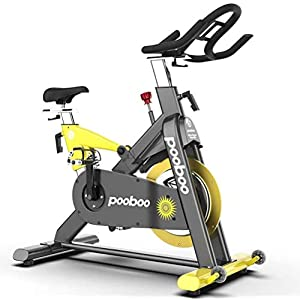 pooboo Pro Indoor Cycling Bike Stationary - Magnetic Resistance Belt Drive Exercise Bike, High Weight Capacity, Heavy Duty Flywheel Commercial Standard