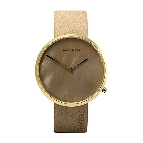 Rolf Cremer Slim 42 503612 Unisex Armbanduhr Beige
