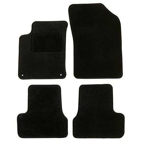 Tapis de Voiture - sur Mesure pour C3 / DS3 (2009-2020) - 4 pièces - Tapis de Sol antidérapant pour Automobile - Moquette Basic