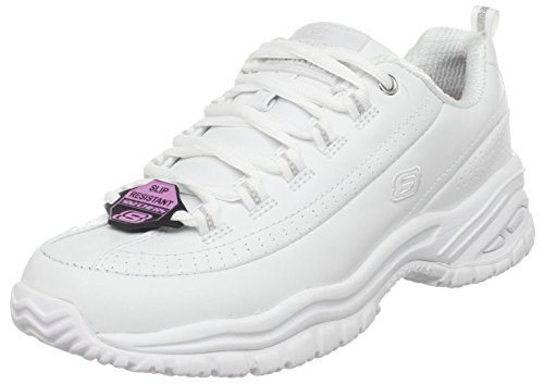 Skechers for Work Women's Soft Stride-Softie Slip Resistant Lace-Up