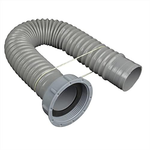 ALMAK Kit di scarico per lavello da cucina, tubo di scarico per lavatrice, tubo di scarico spesso, tubo di prolunga per condizionatore d'aria portatile, per prese da 58 mm, lunghezza 40 – 120 cm
