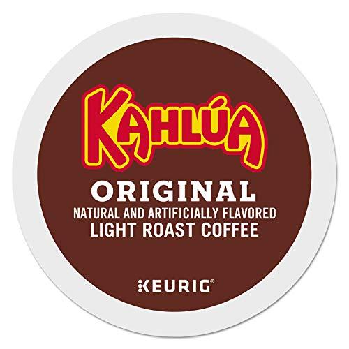 Kahlua Original, Single-Serve Coffee K-Cup Pods, Light Roast, 96 Count