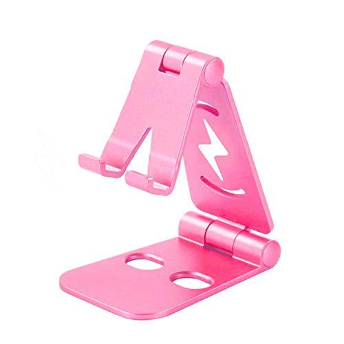 XLNB Telefoonhouder en tabletstandaard, verstelbaar, opvouwbaar, tafelhouder voor keuken, nachtkastje, bureau, tafel, POS Kiosk recept, Showroom 2 stuks