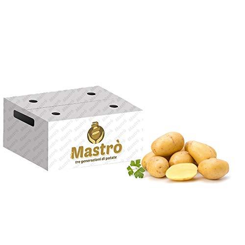 iMastrò Patate Di Pasta Gialla In Sacchi Da 10 Kg Fresche Box Da Cucinare Sacco Made In Italy Patatine Fritte Taglio Chips (20 kg)