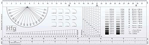 10 Stk. Typometer