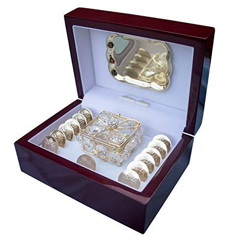 San Rafael Arcangel Arras de boda - wedding unity coins - Arras de...