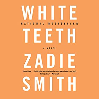 White Teeth audiobook cover art