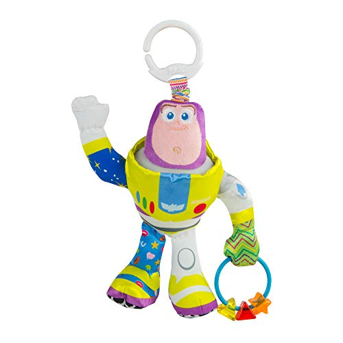 LAMAZE L27259 Handgreep, babyspeelgoed, hanger, babyhanger, meerkleurig