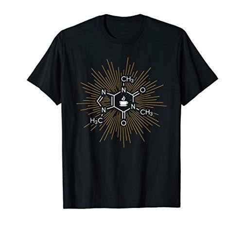 Koffein T-Shirt Kaffee Strukturformel chemische Formel