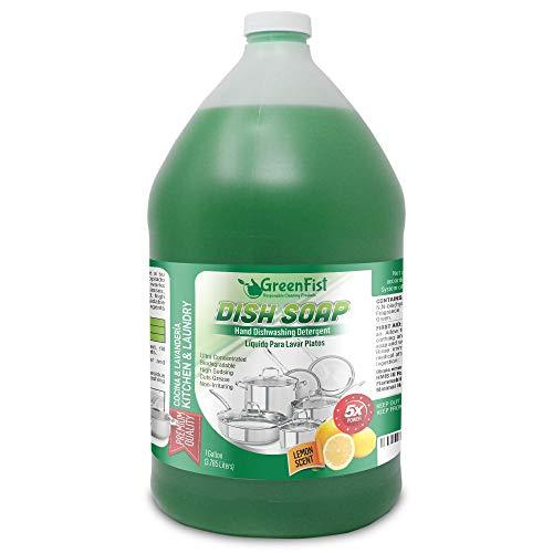 (65% OFF Coupon) GreenFist Dish Soap 1 Gallon $9.45