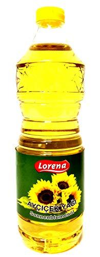 Lorena Sonnenblumenöl 100% Spitzenqualität 900ml - Aycicek Yagi