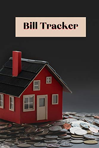Bill Planner: monthly bill planner and organizer 6x9 inch with 122 pages Cover Matte
