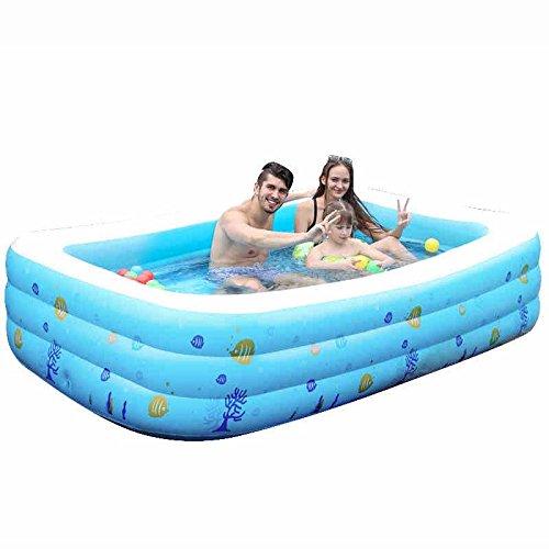 GJ- Piscine pour adultes Grande piscine pour enfants Piscine gonflable pour bébés