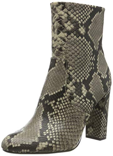 Steve Madden Damen Editor Ankle Boot Stiefeletten, Mehrfarbig (Natural Snake 236), 40 EU