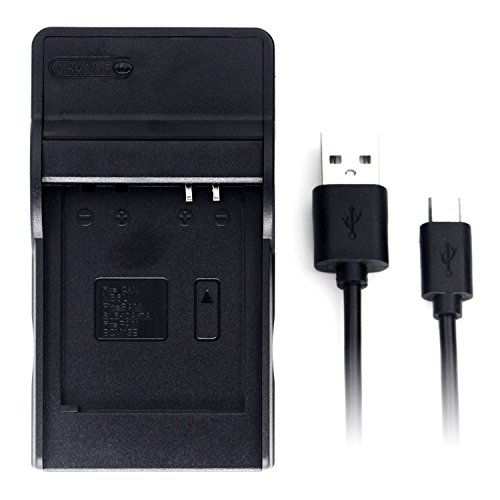 DMW-BCM13 USB Charger for Panasonic DMC-TZ55, DMC-TZ60, DMC-TZ61, Lumix DMC-FT5, DMC-TS5, DMC-TZ70, DMC-ZS40, DMC-ZS50 Camera and More