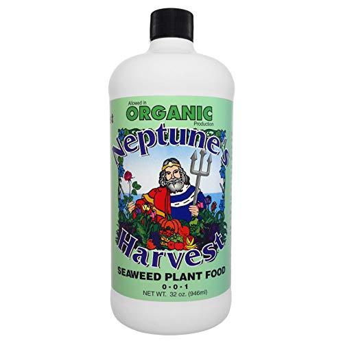 Neptune s Harvest Seaweed Fertilizer 0-0-1 (32 Ounce)