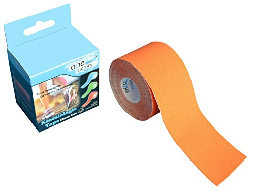 ORANGE - 1 Rolle KINESIOLOGIE Tape 5 cm x 5 m NEU ORANGE, Akutape, Tapen, Tapes, Kines.