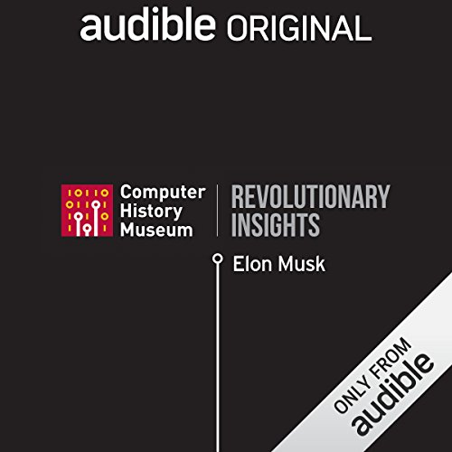 Elon Musk on a Good Book audiobook cover art