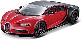 Maisto Bugatti Chiron Sport 1/18 diecast Model car - Black/Red