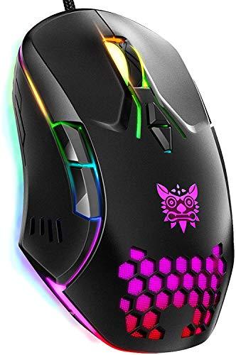 mouse con cable portatil de la marca PANFREY