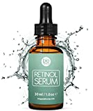 Award-Winning Retinol Serum - 2.5% Retinol Liposome Delivery System with 20% Vitamin C, Aloe, Vegan Hyaluronic Acid - High Strength Anti Aging Serum for <span class='highlight'>face</span>, décolleté and body from Bioniva 30ml
