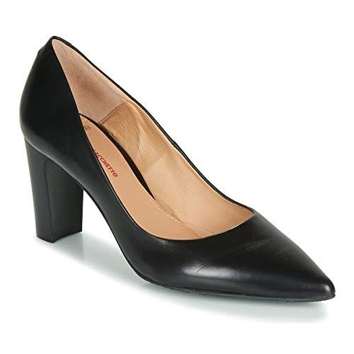 Perlato 11008-jamaica-noir Pumps Damen Schwarz - 38 - Pumps Shoes