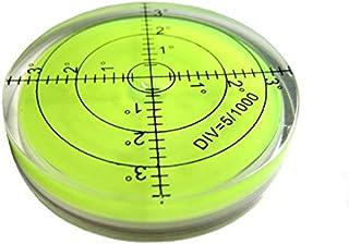 測定器用のスケール水平気泡測定アクセサリを備えた大型ユニバーサル円形水準器 水平器 傾斜 測定 丸型