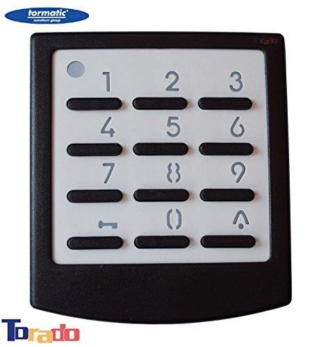 Tormatic Novoferm Funk-Codetaster Digicode 433 Codetaster Signal 218 Zahlencode Codeschloss Zahlenschloss 433 MHz für Garagentorantriebe Taster Drucktster