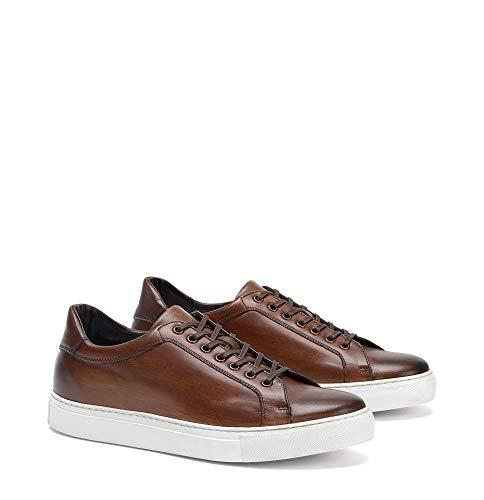 Trask Men's Rigby Shoe Cognac Italian Calfskin 8.5 M US
