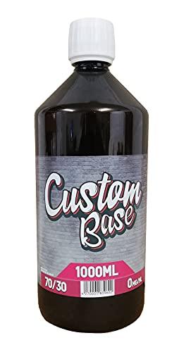 Custom Base Liquid Base 70% VG / 30% PG, 1000ml ohne Nikotin