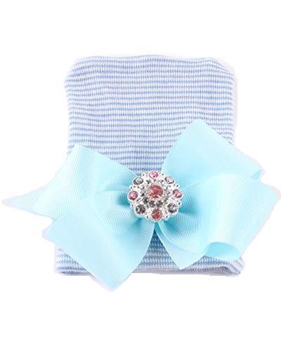 A Smile Home - Chapeau - Bébé (fille) - Bleu - taille unique