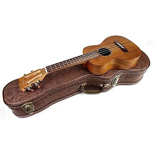 Planken Hoge kwaliteit Ukulele met Premium Guitar Bag 23 Inch Professional 4 Strings Hawaiian Guitar Best Gift for Friends, studenten