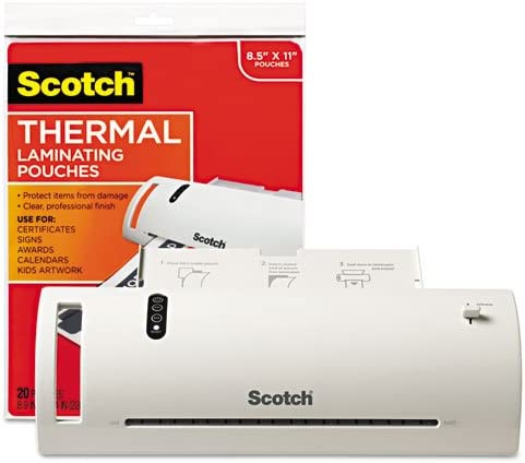New mail order Scotch - Thermal Inventory cleanup selling sale Laminator Value Pack Letter with 9