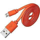 Adhiper-Micro USB Cable de repuesto para rápido cable plano Cable de...