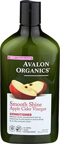 Avalon Organics Smoothing Apple Cider Vinegar Conditioner, 11 Oz