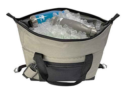 Polar Bear Coolers 24 Pack Original Soft Cooler Silver